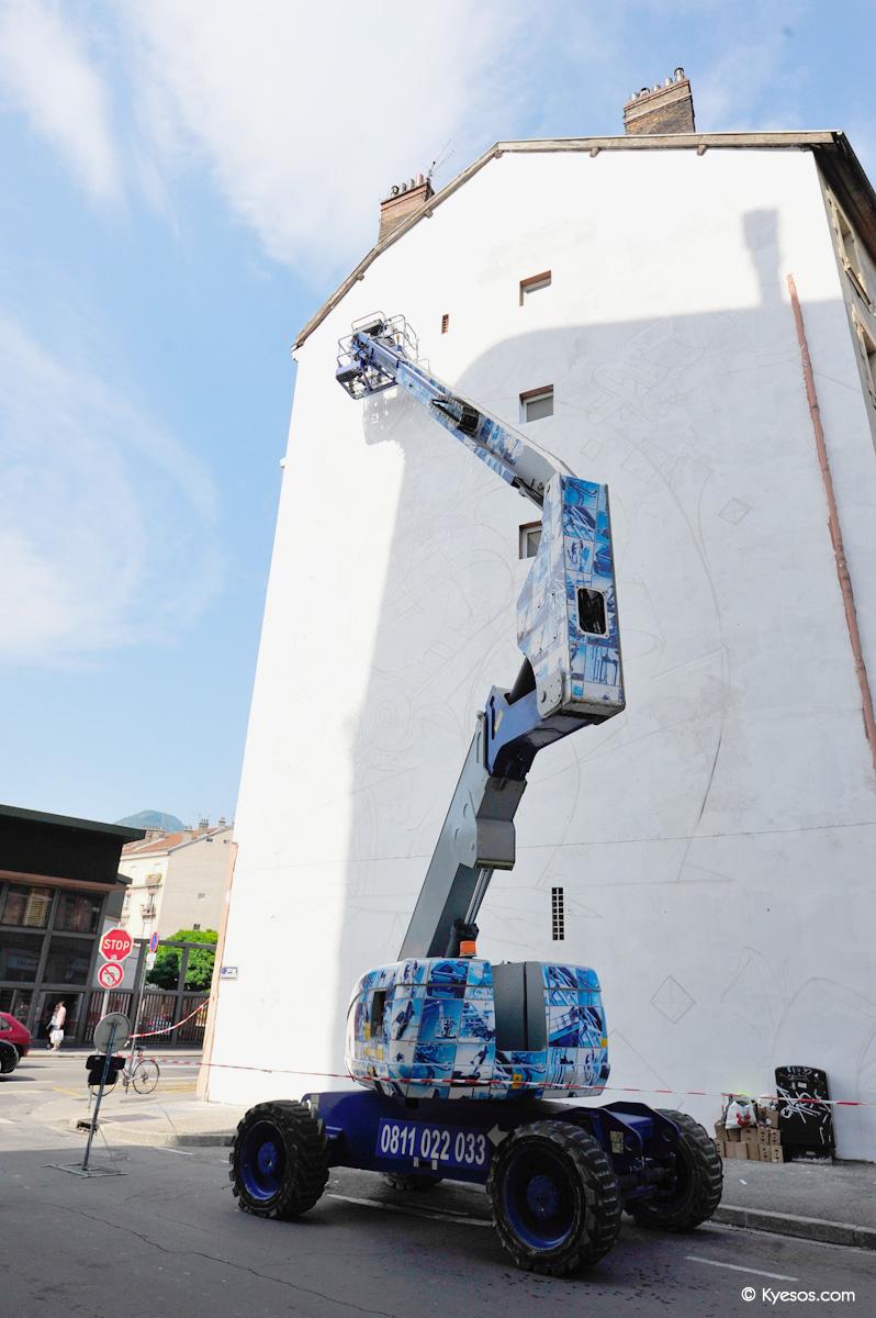 #Grenoble #StreetArt