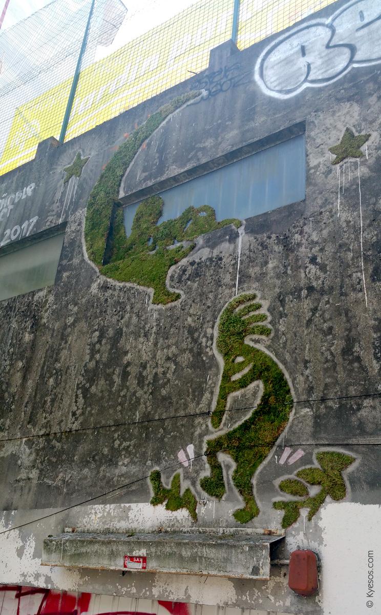 #StreetArt #Grenoble : le vert dure…